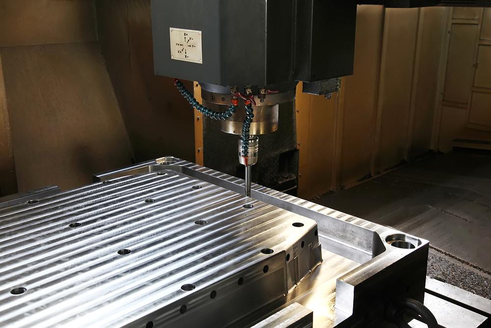 CNC机床工作